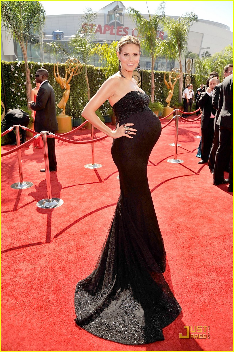 heidi klum emmy awards 2009 01
