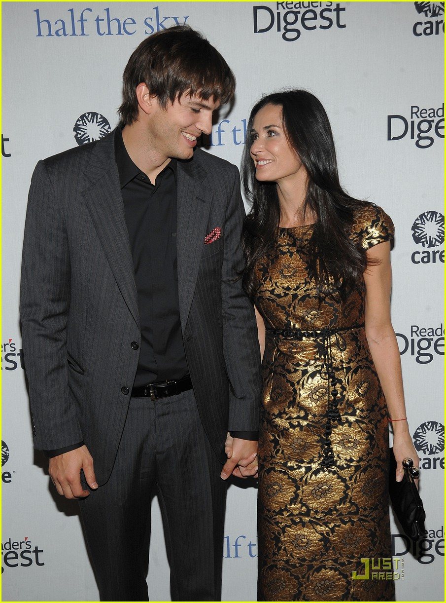 ashton kutcher demi moore half the sky 142240902
