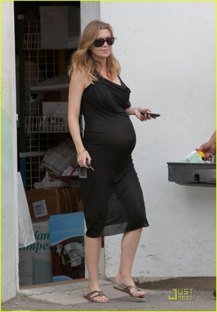 Ellen Pompeo Pregnant Pics 8