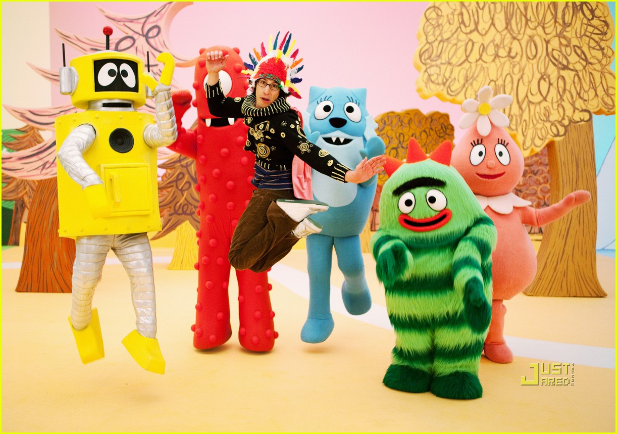 andy samberg yo gabba gabba 01