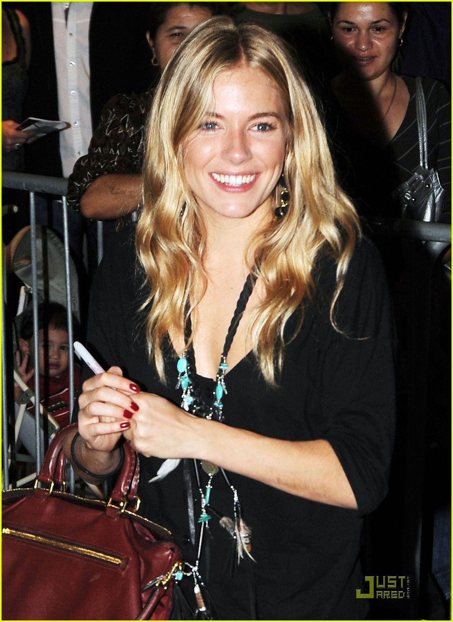 sienna miller after miss julie preview 10