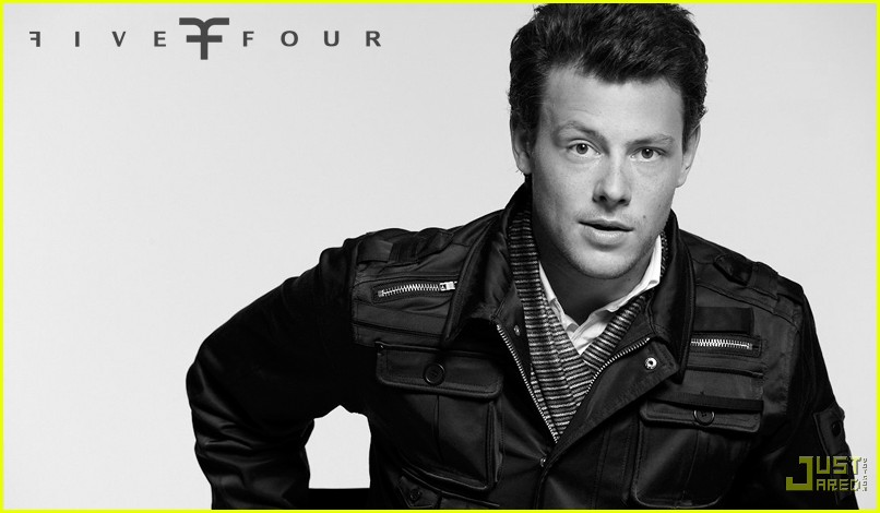 cory monteith five four ad campign 07