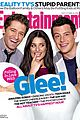 glee cast entertainment weekly cover 04
