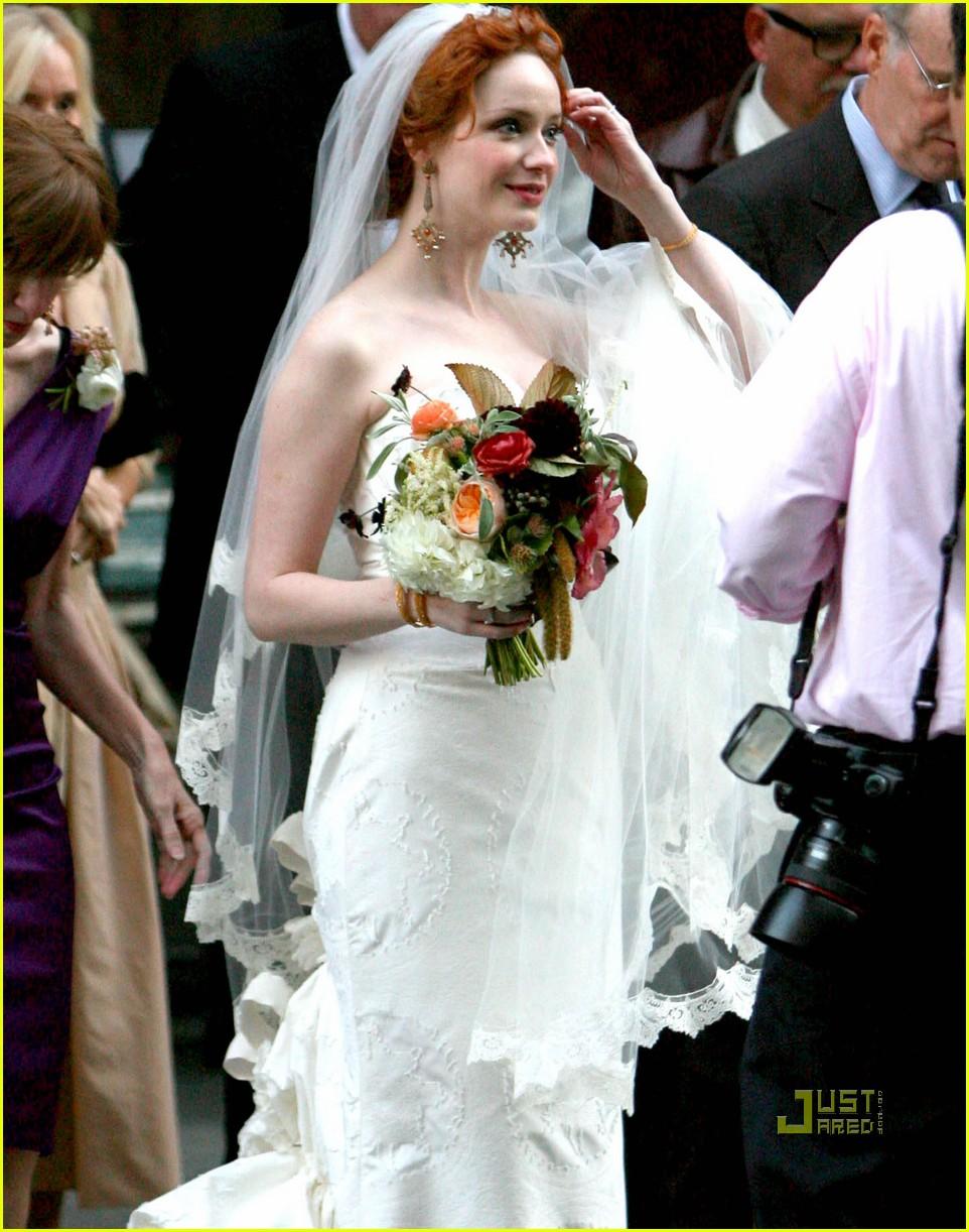 christina hendricks wedding pictures 10