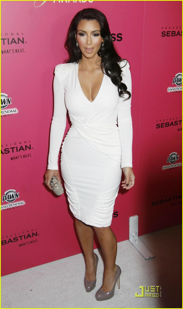 kim kardashian 2009 annual hollywood style awards 09
