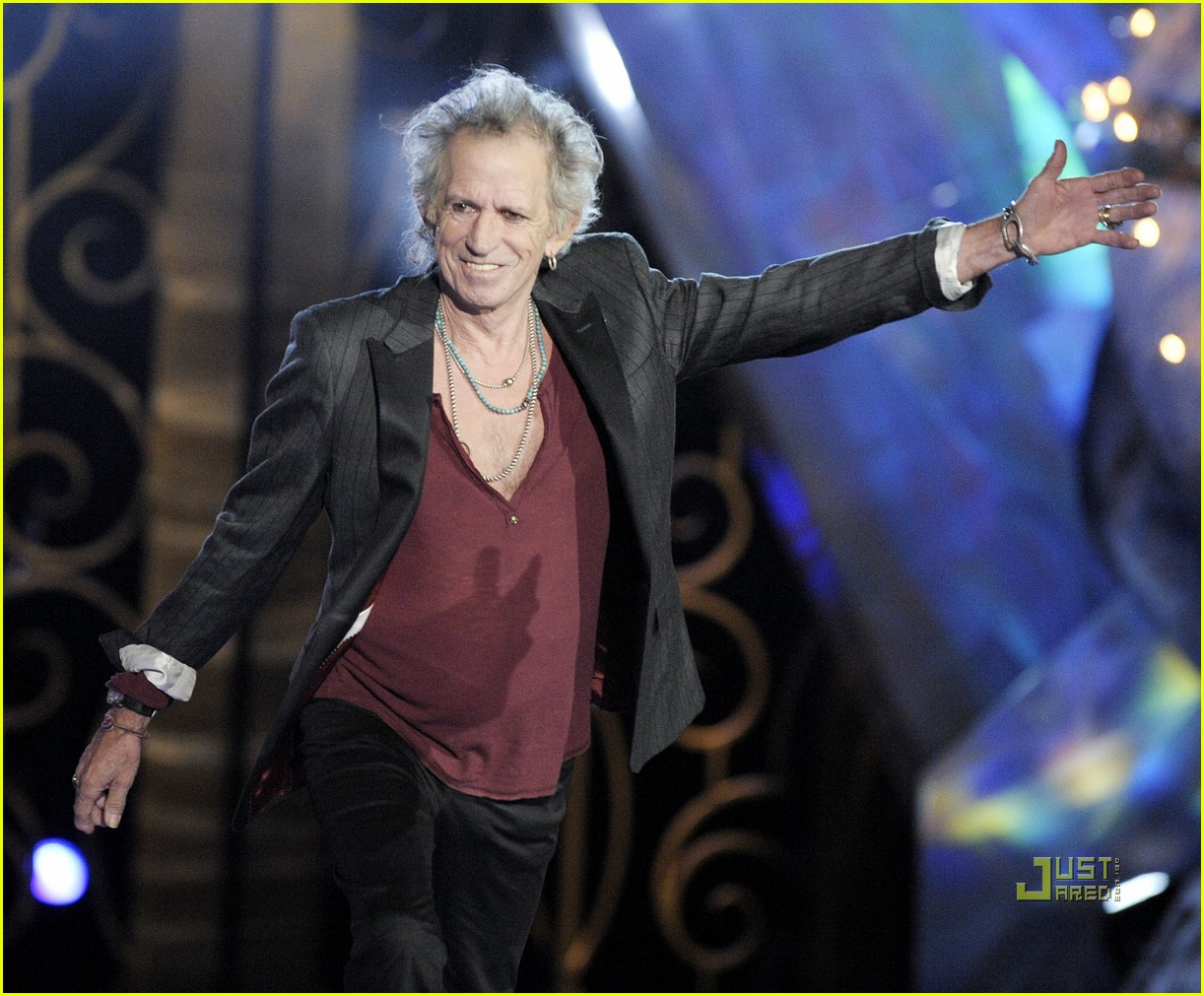 johnny depp keith richards rock immortal scream awards 02