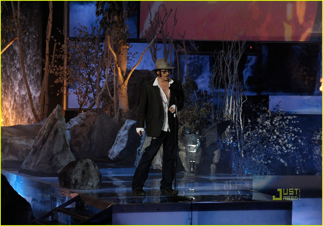 johnny depp keith richards rock immortal scream awards 03