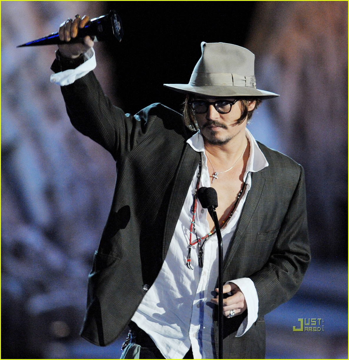 johnny depp keith richards rock immortal scream awards 05