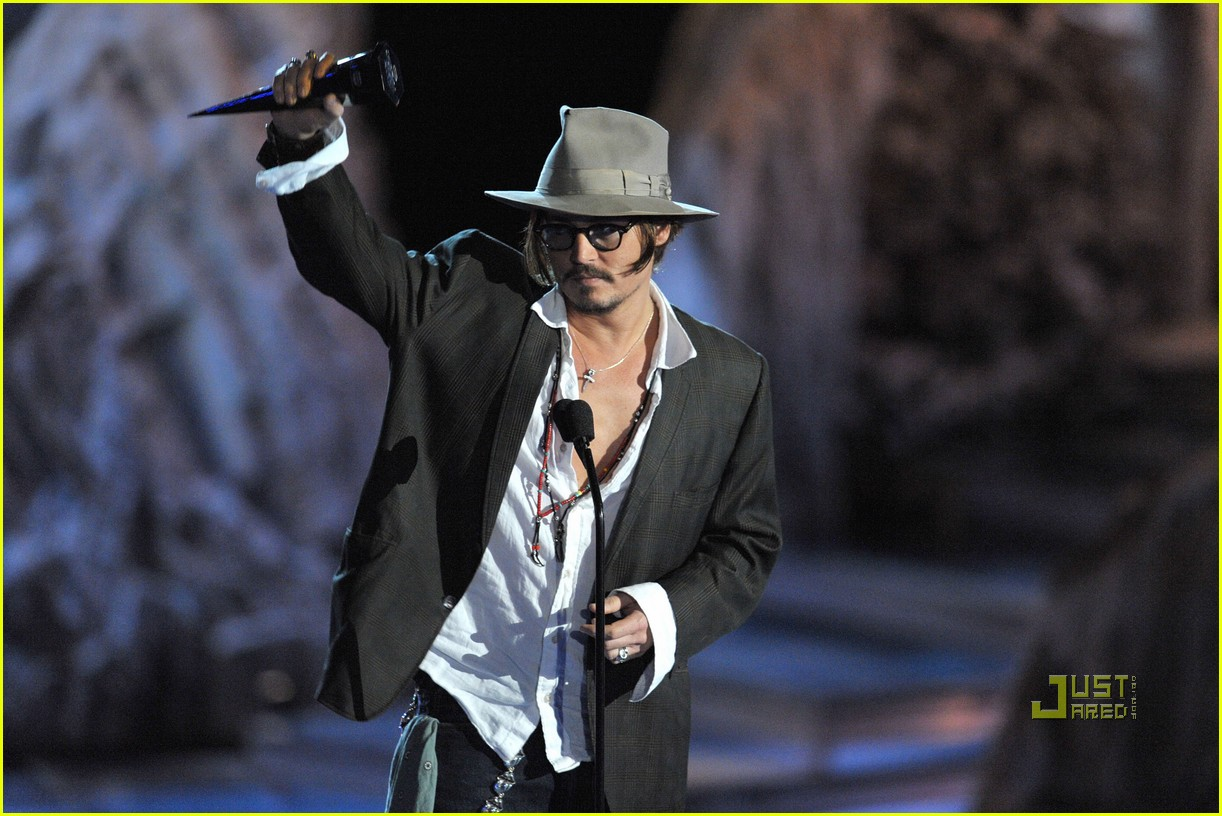 johnny depp keith richards rock immortal scream awards 13