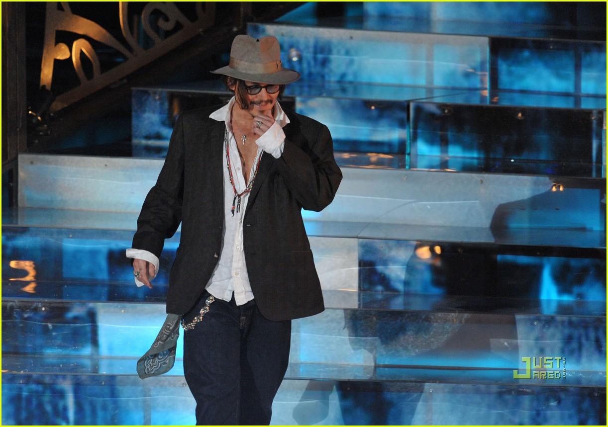 johnny depp keith richards rock immortal scream awards 14