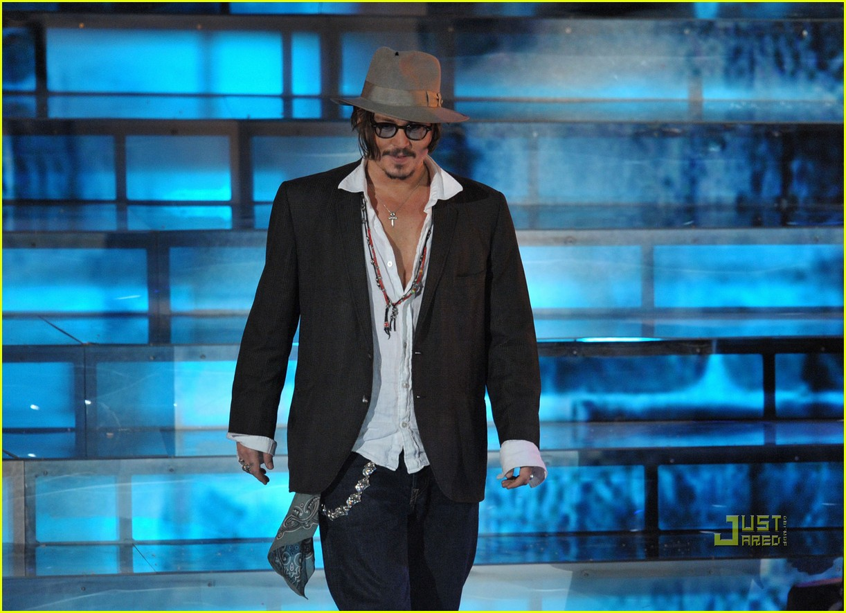 johnny depp keith richards rock immortal scream awards 16