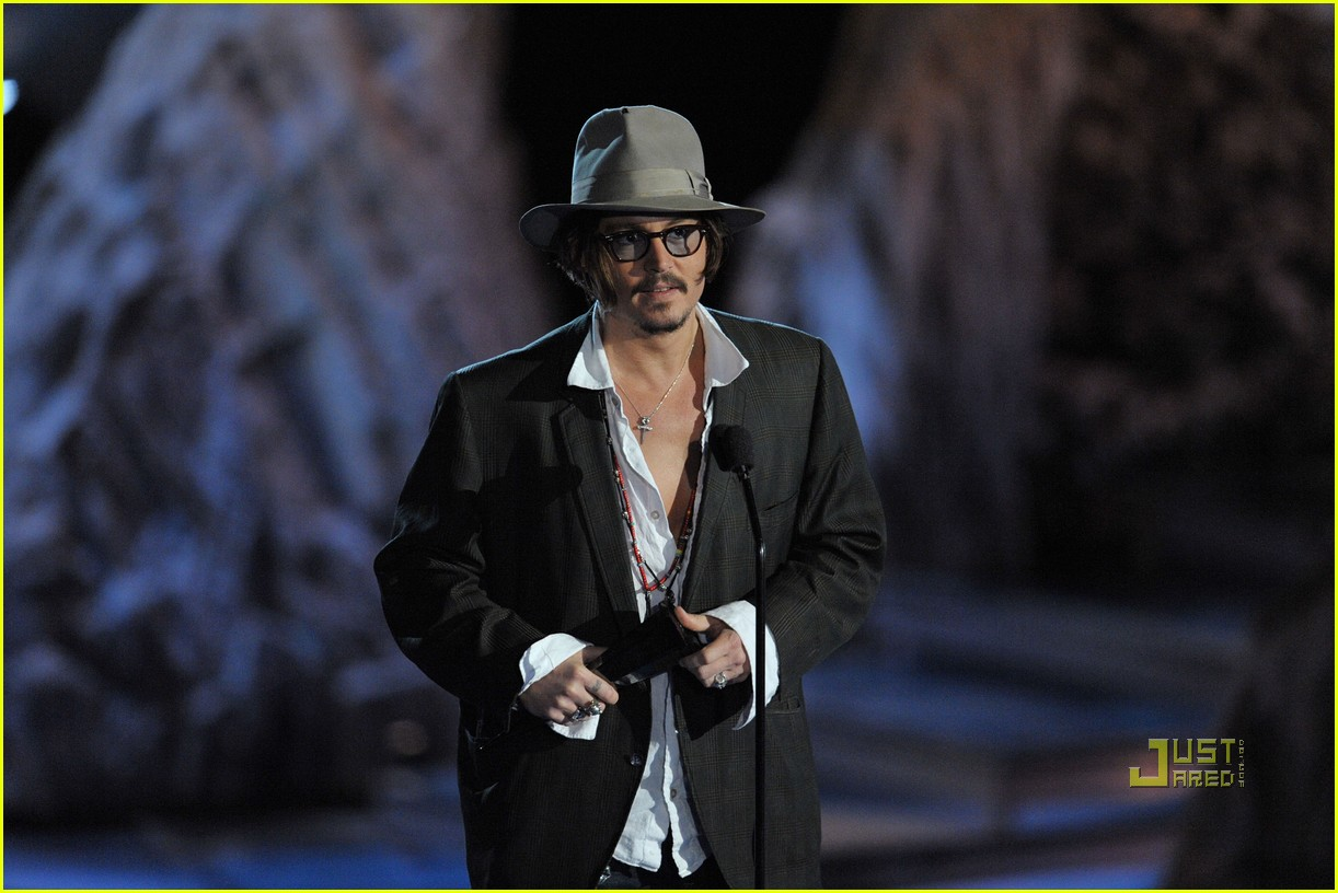 johnny depp keith richards rock immortal scream awards 20