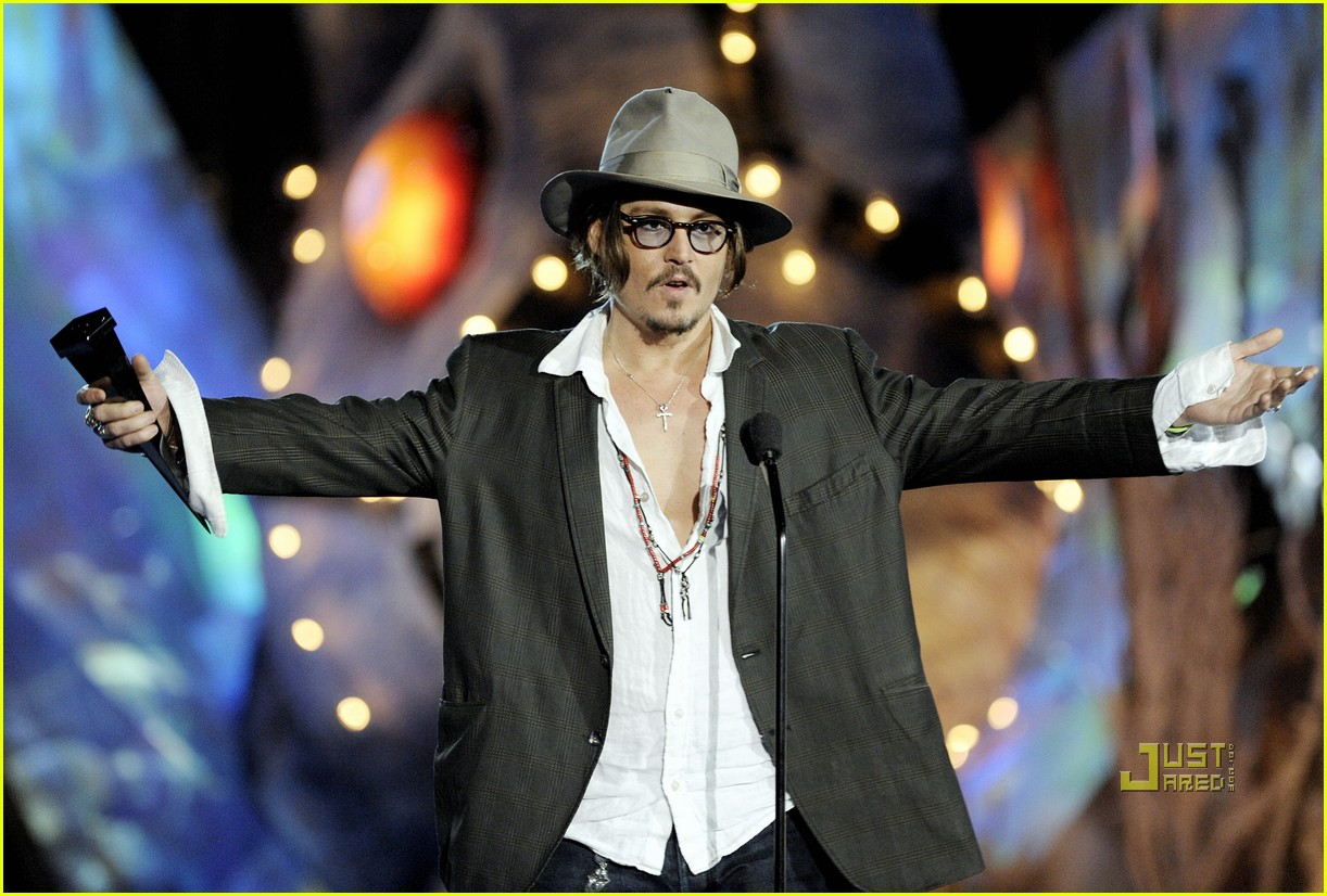 johnny depp keith richards rock immortal scream awards 22