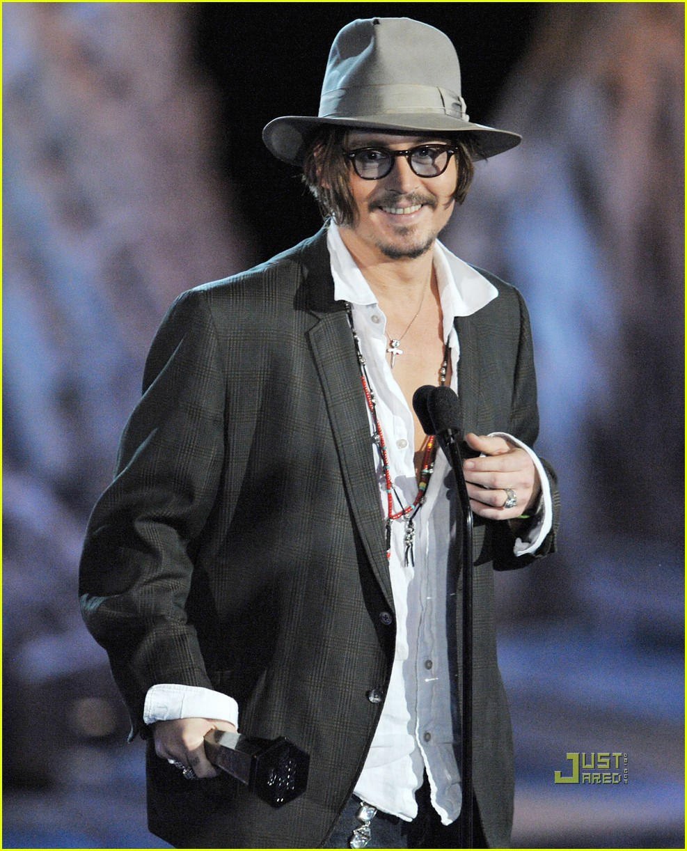 johnny depp keith richards rock immortal scream awards 25
