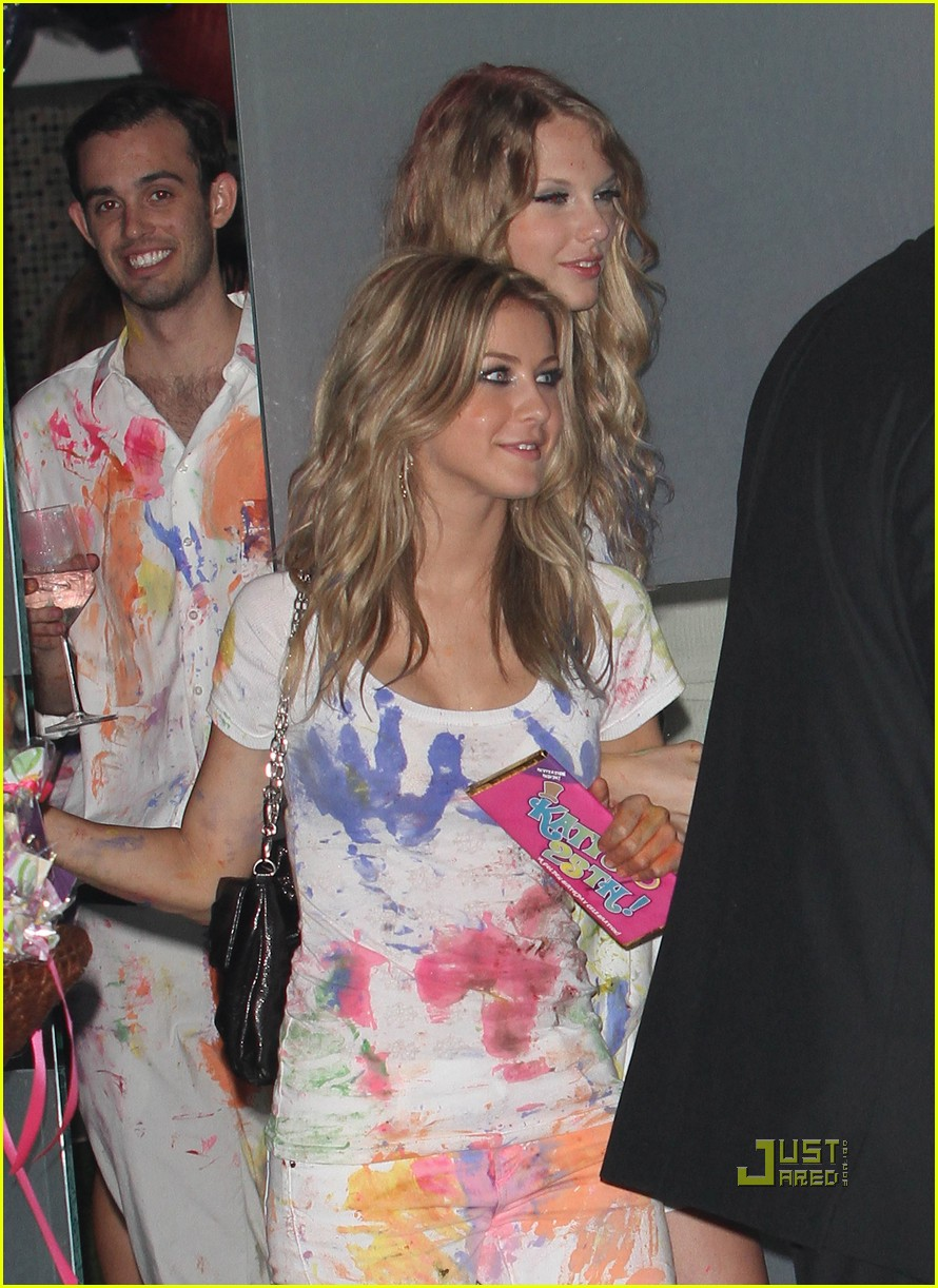 taylor swift katy perry birthday party 17