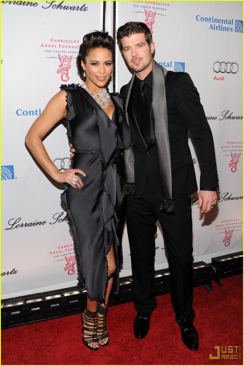 robin thicke paula patton expecting 032305942
