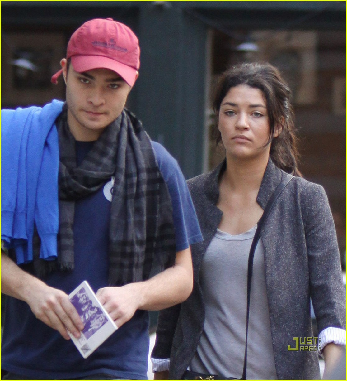 Full Sized Photo of ed westwick jessica szohr bubbys 05 ... Ed Westwick Girlfriend