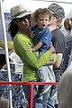 garcelle beauvais petting zoo 01