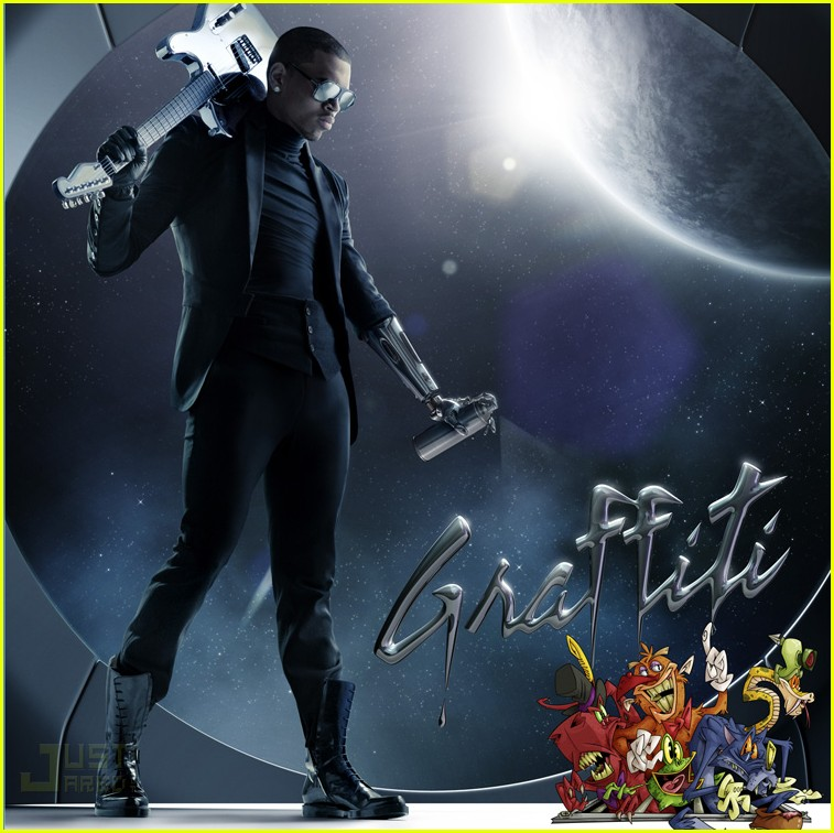 chris brown graffiti album cover 01