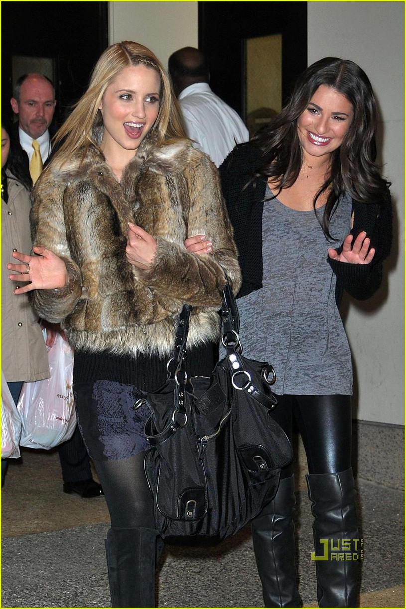 dianna agron george gina lucy bag 03