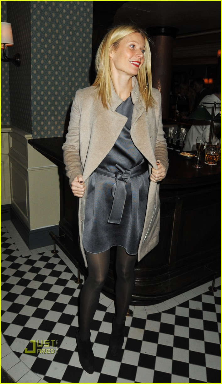 Gwyneth Paltrow Launches Dean Street Townhouse Gwyneth Paltrow