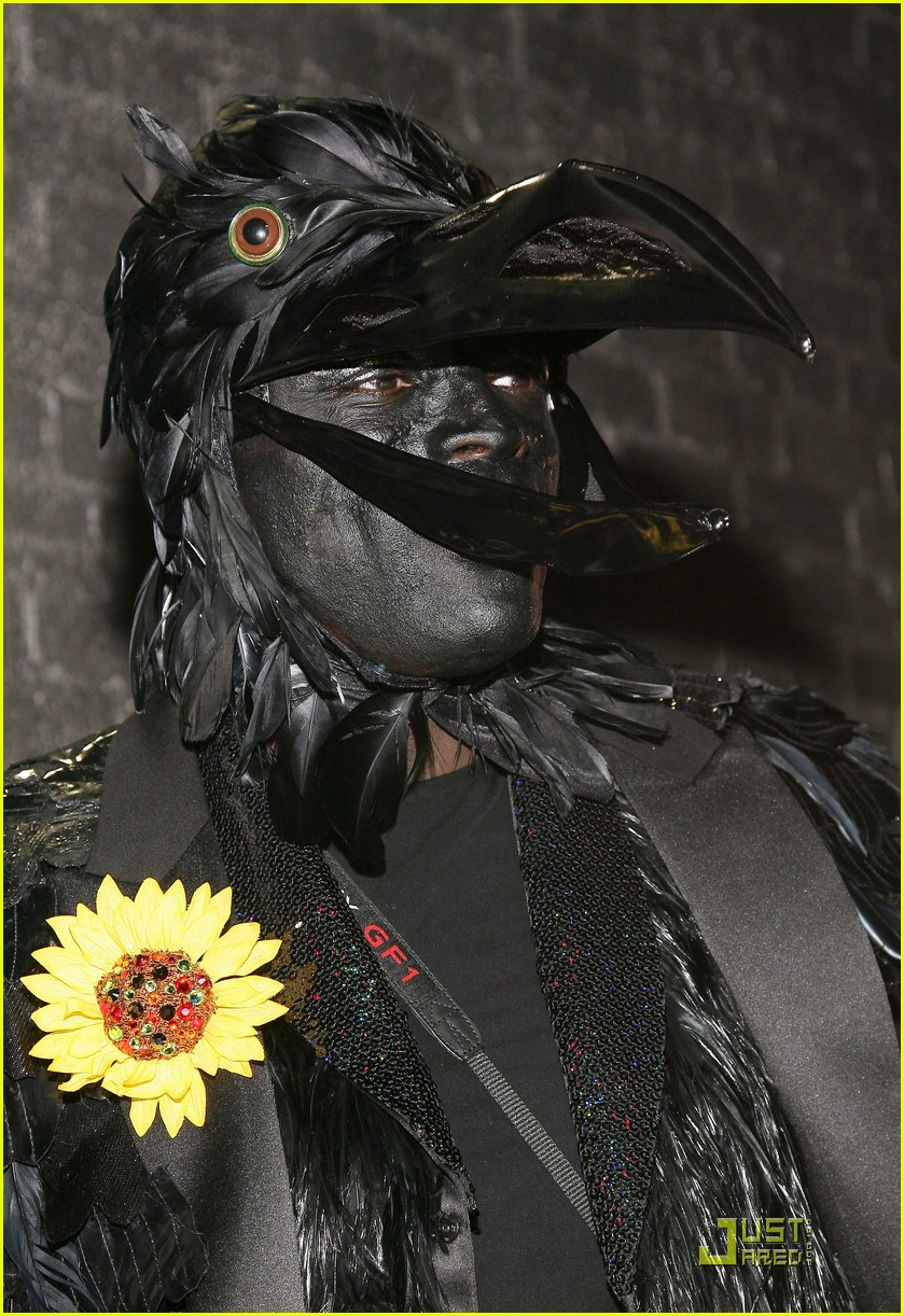 heidi klum seal black crows 13