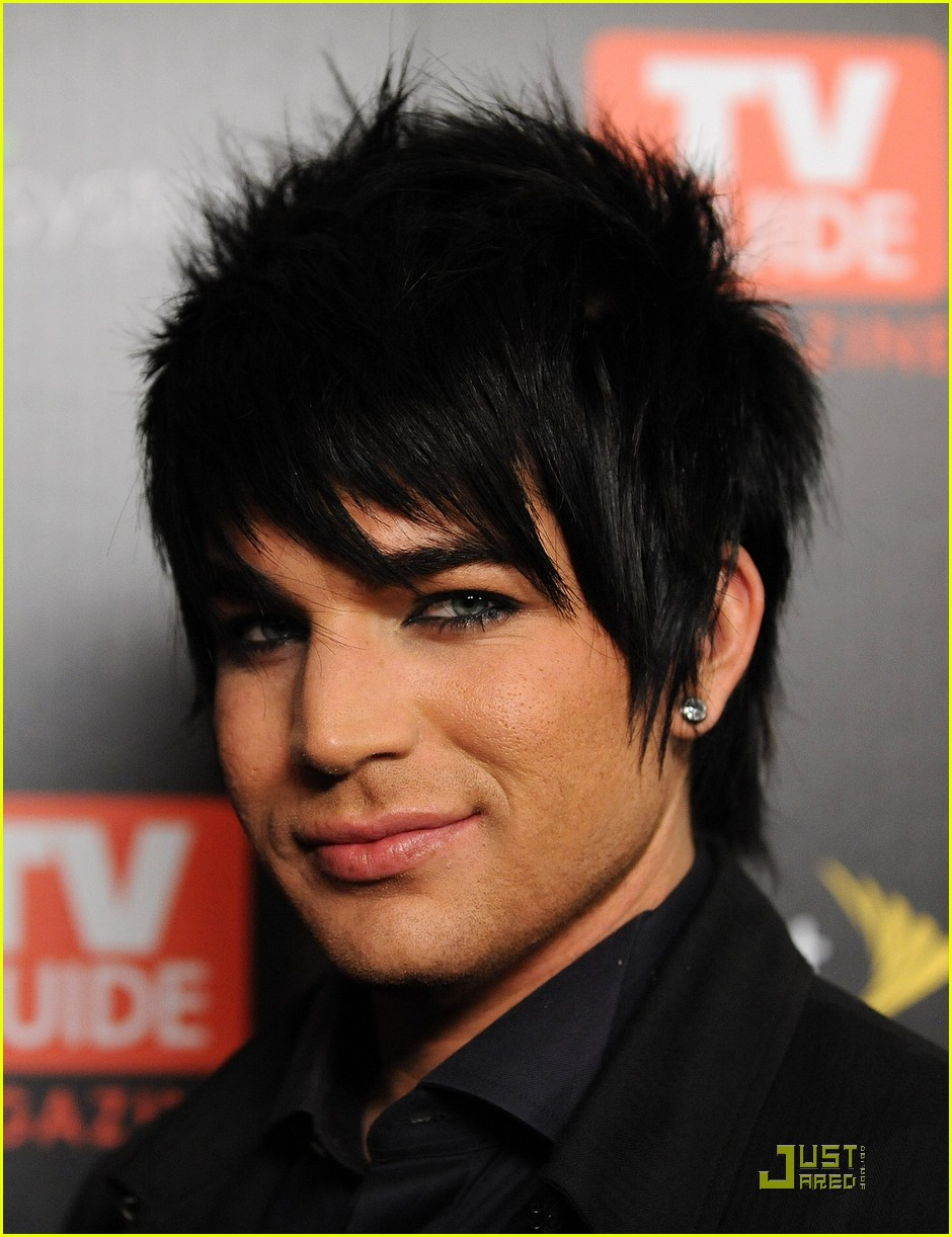 Full Sized Photo Of Adam Lambert Tv Guide Hot List Party