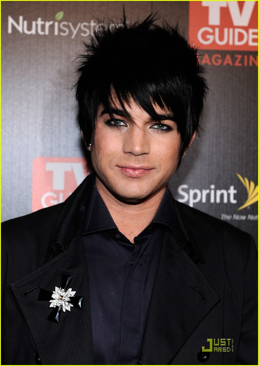 adam lambert tv guide hot list party 072349691