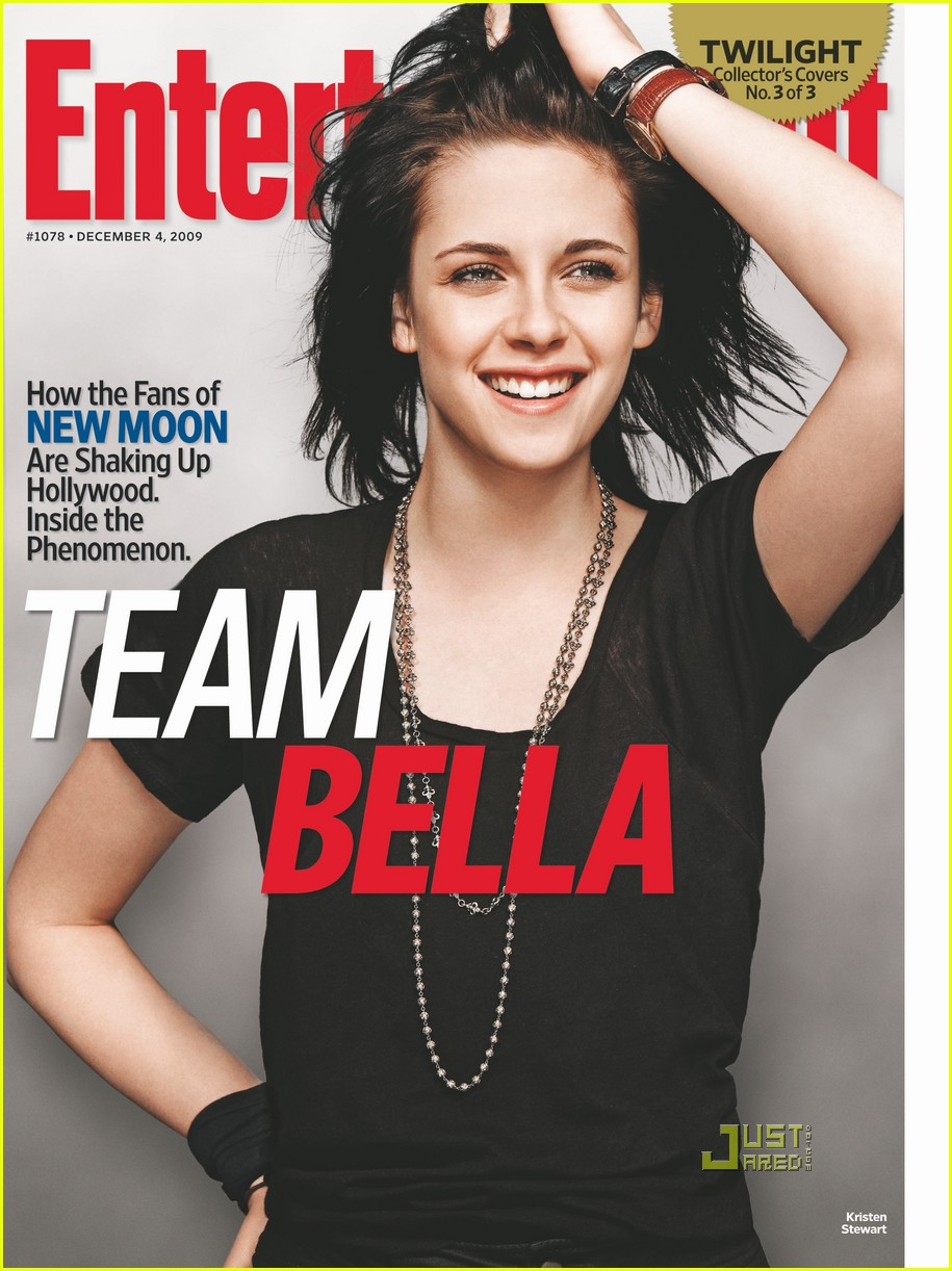 kristen stewart covers entertainment weekly team bella