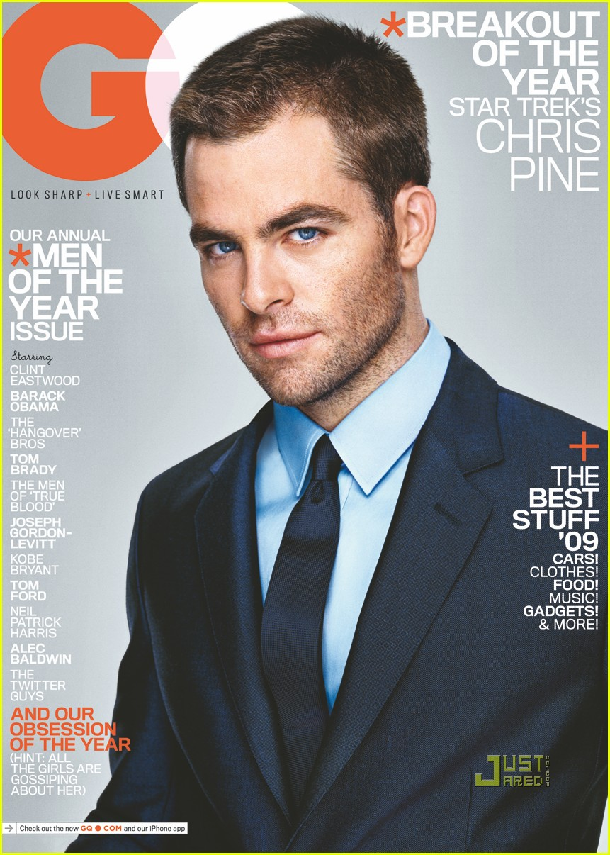 Chris Pine Covers 'gq