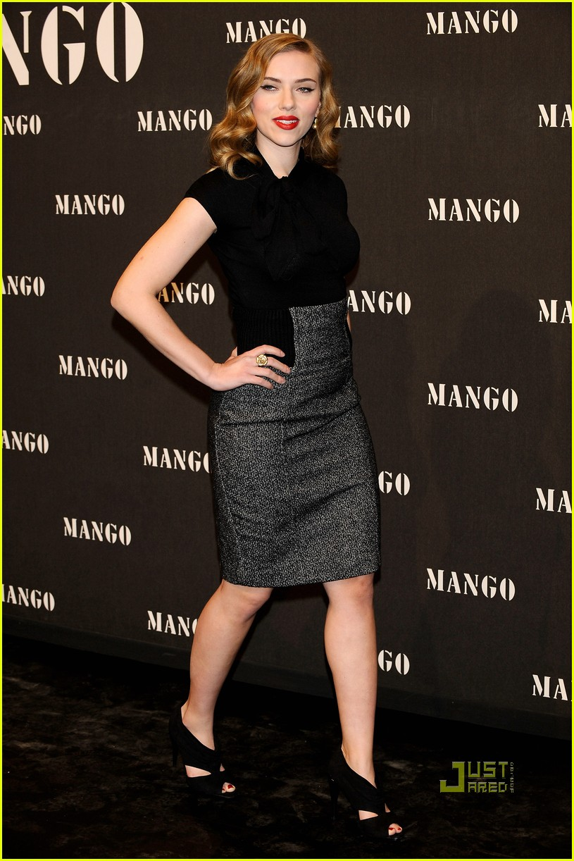 scarlett johansson mango new collection 102351411