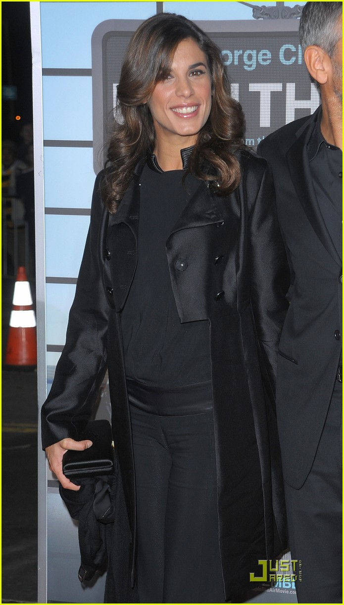 george clooney elisabetta canalis are up in the air again 032392272