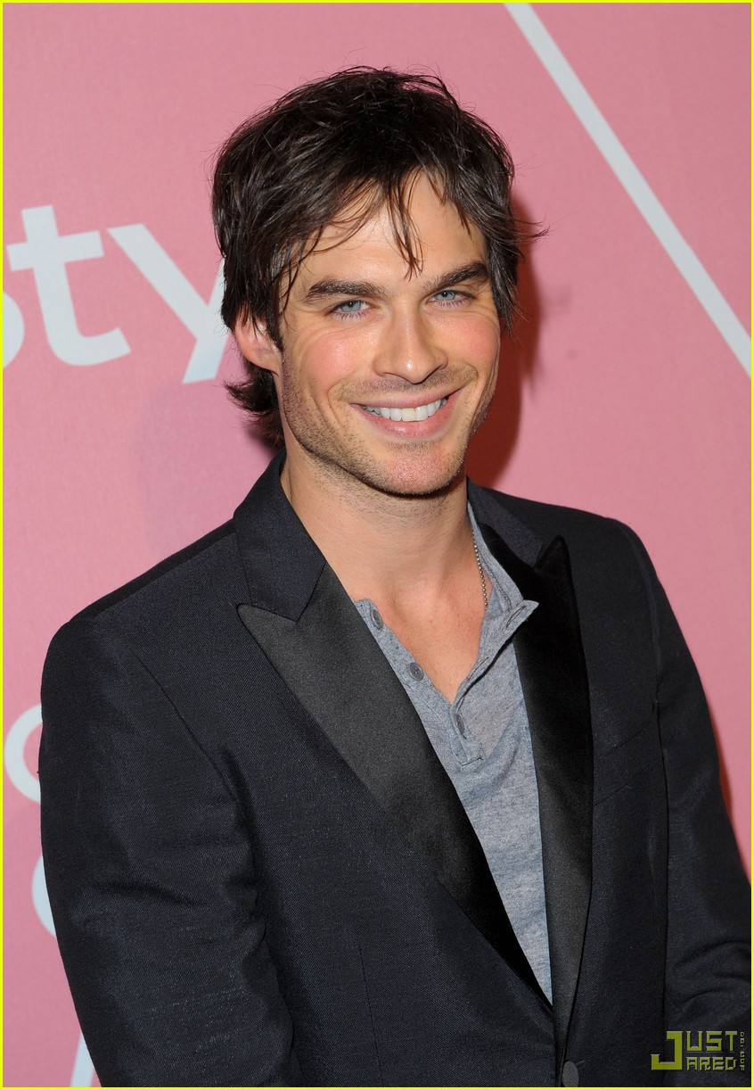 ian somerhalder golden globes party 032401383