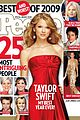 taylor swift cover people 25 most intriguing people 2009