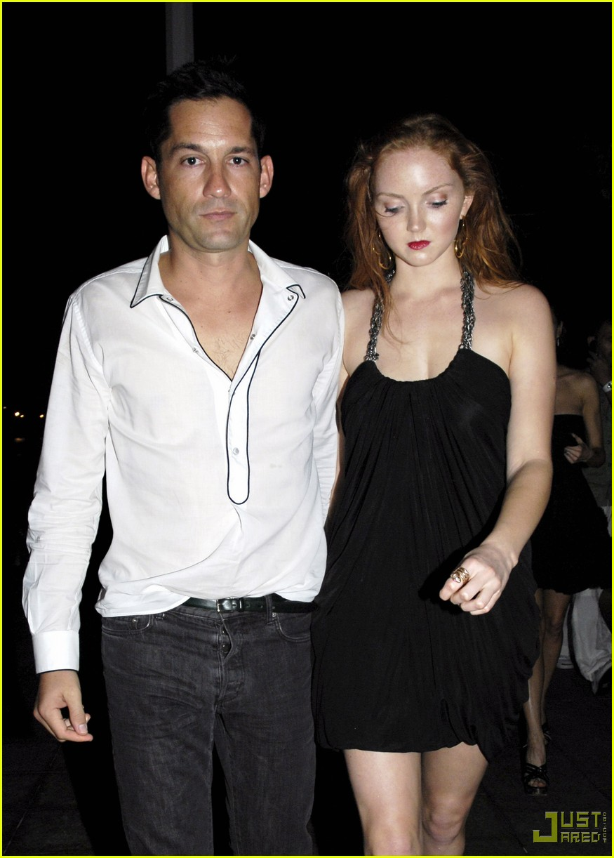 lily cole enrique murciano new years eve st barts 06