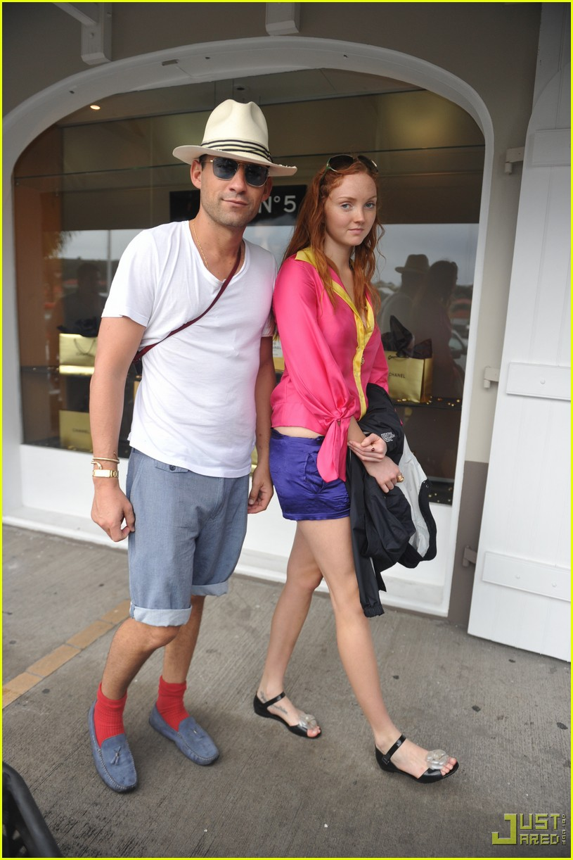 lily cole enrique murciano new years eve st barts 072405682