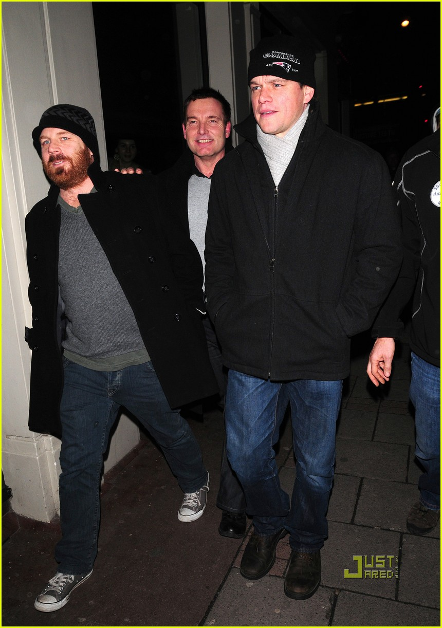 matt damon nobu london 01
