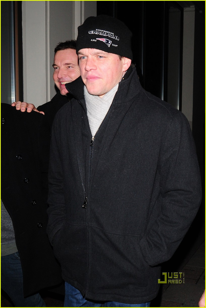 matt damon nobu london 03
