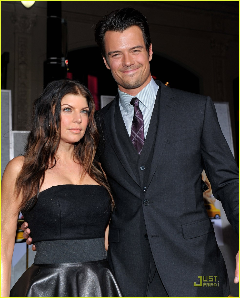 Josh Duhamel with beautiful, Wife Fergie Duhamel