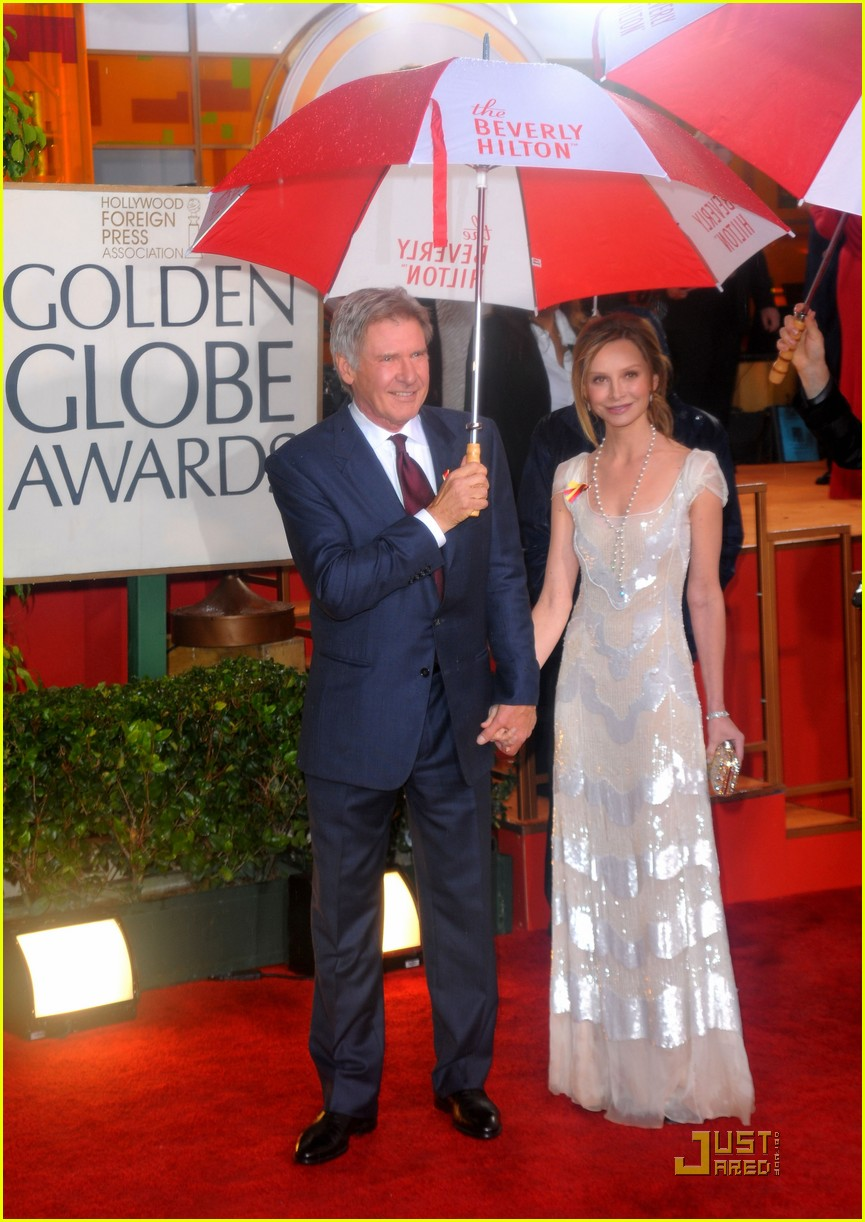 harrison ford flockhart golden globes 23