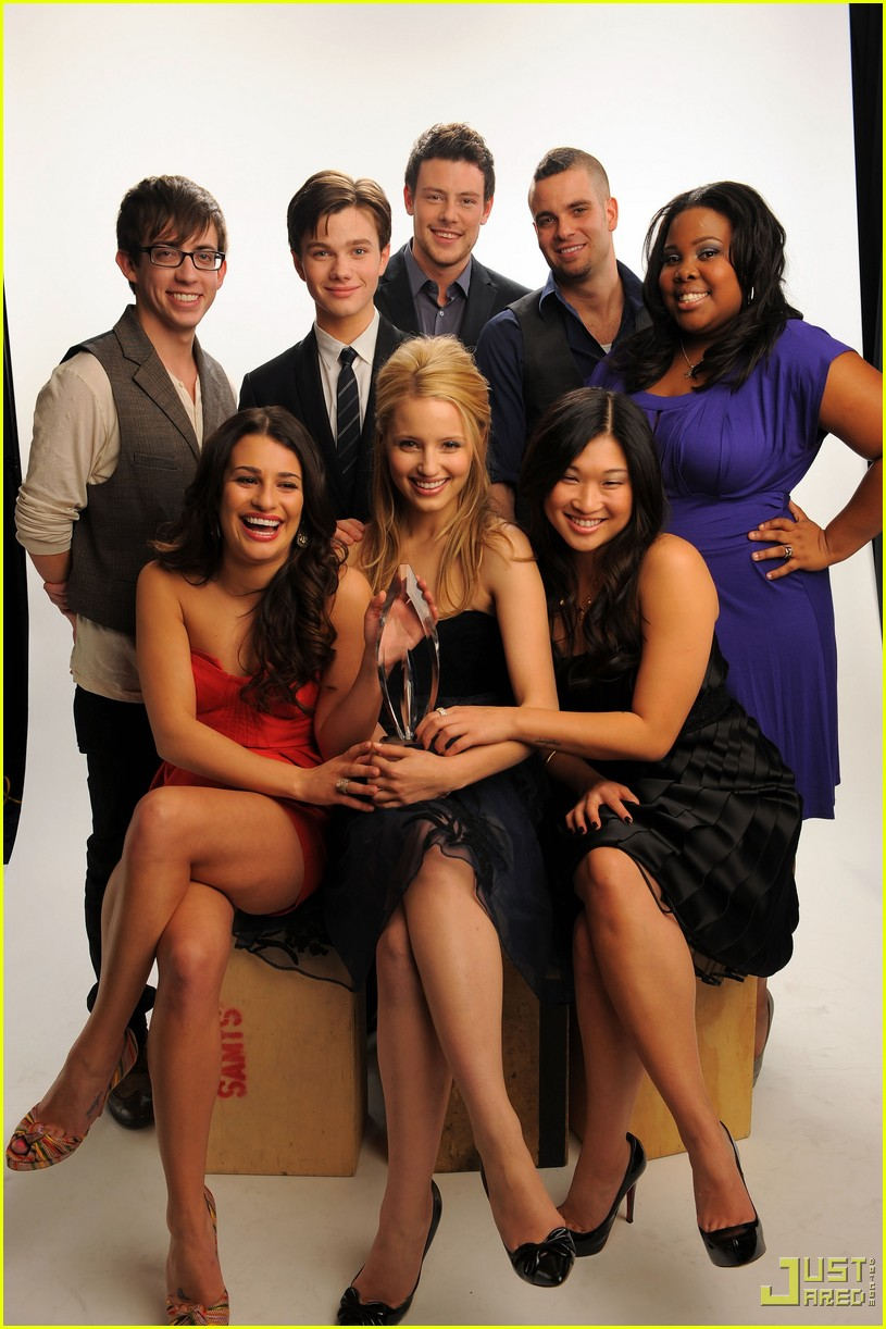 Glee: People's Choice for Favorite New TV Comedy: Photo ...