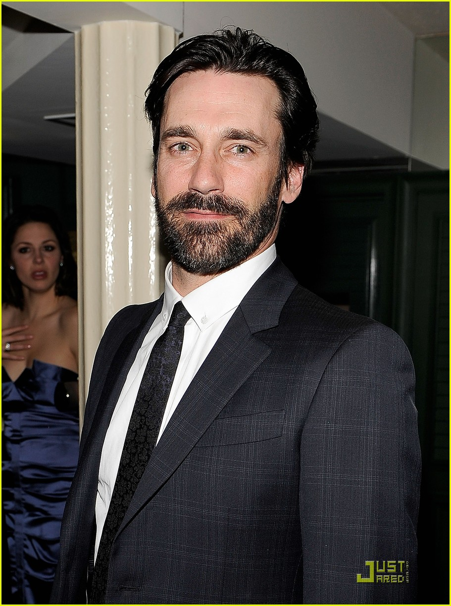 mad men wins top honors jon hamm still bearded 06