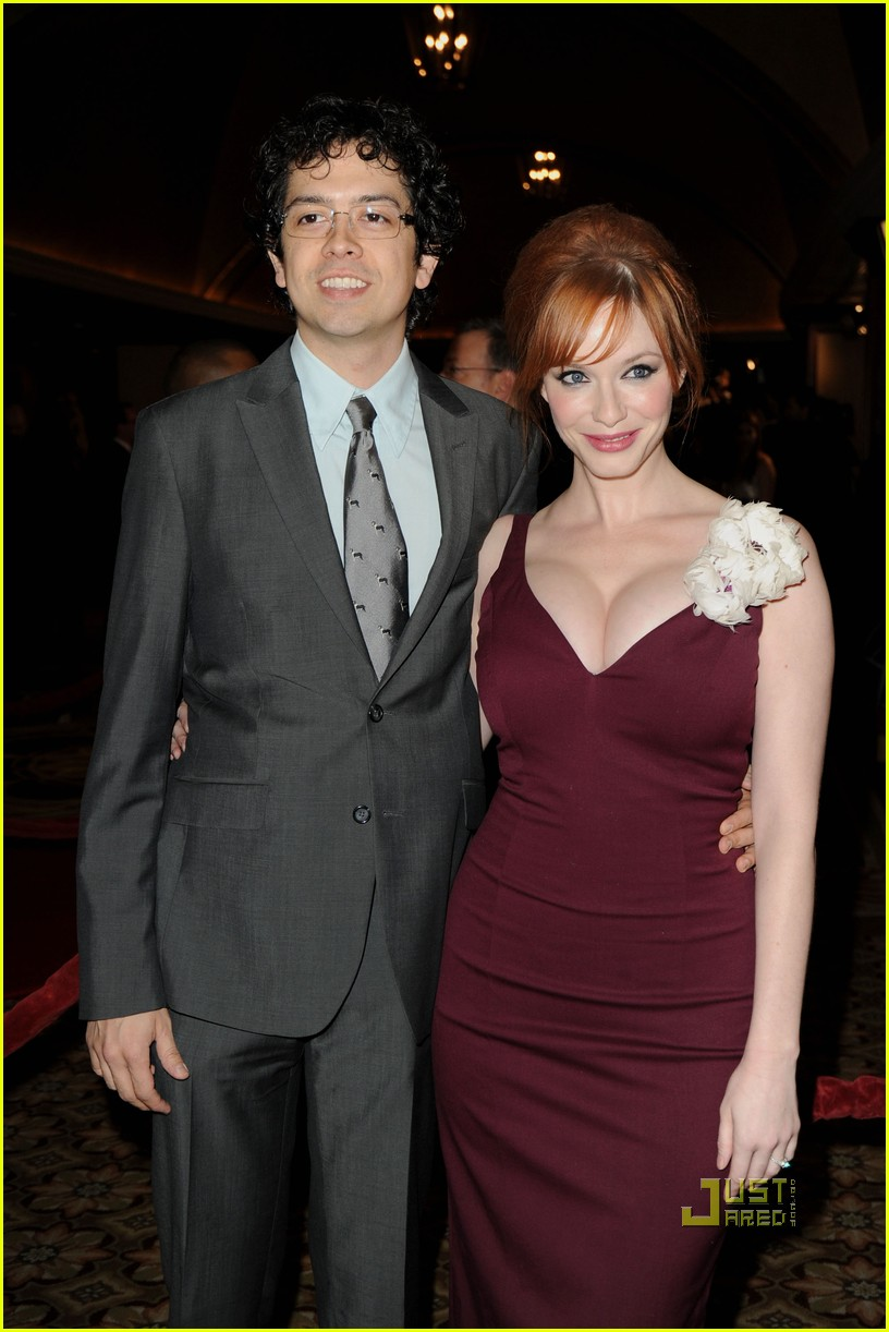 christina hendricks 2010 directors guild awards 012412761