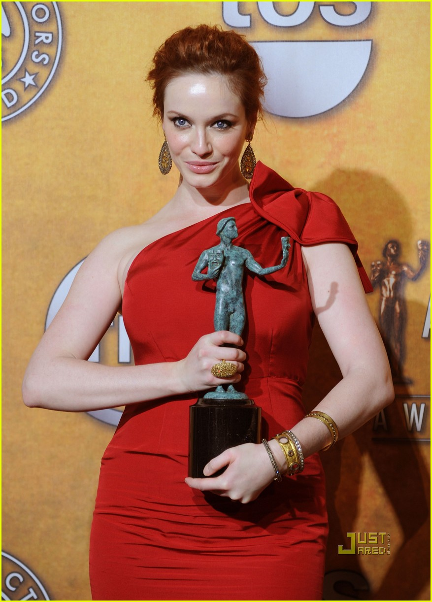 christina hendricks 2010 sag awards 01