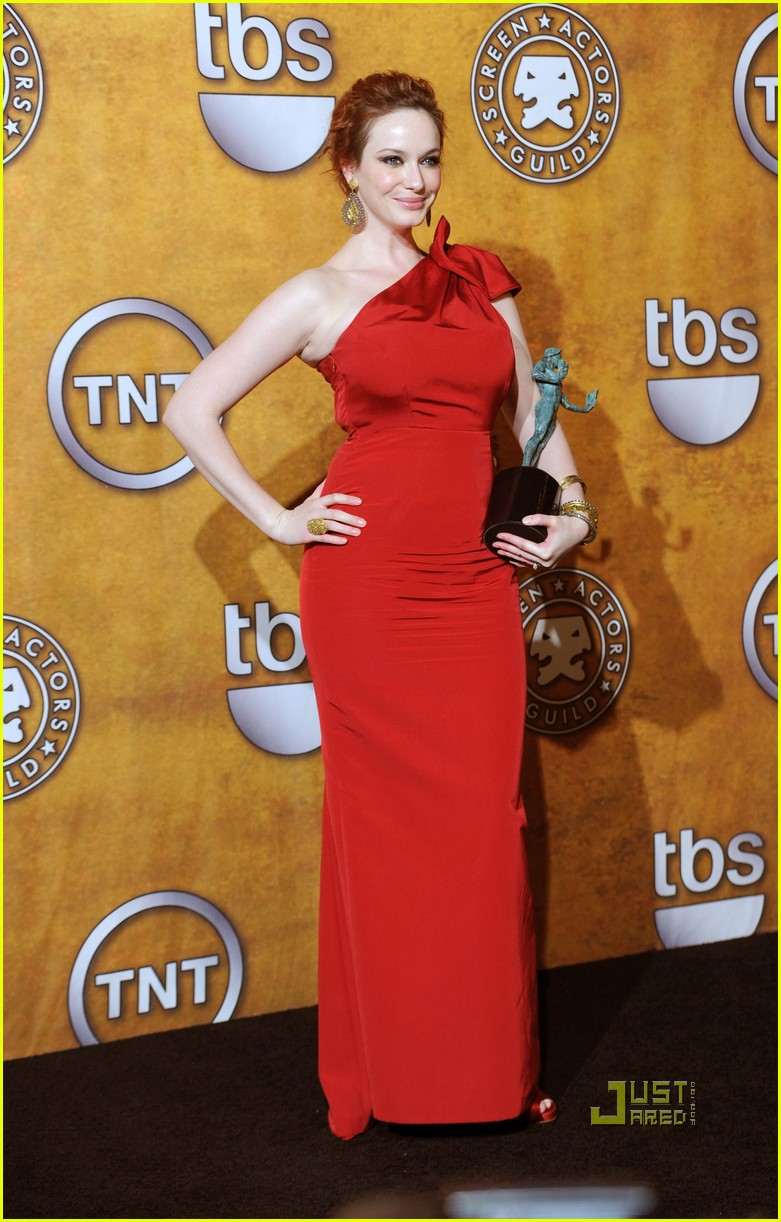 christina hendricks 2010 sag awards 04