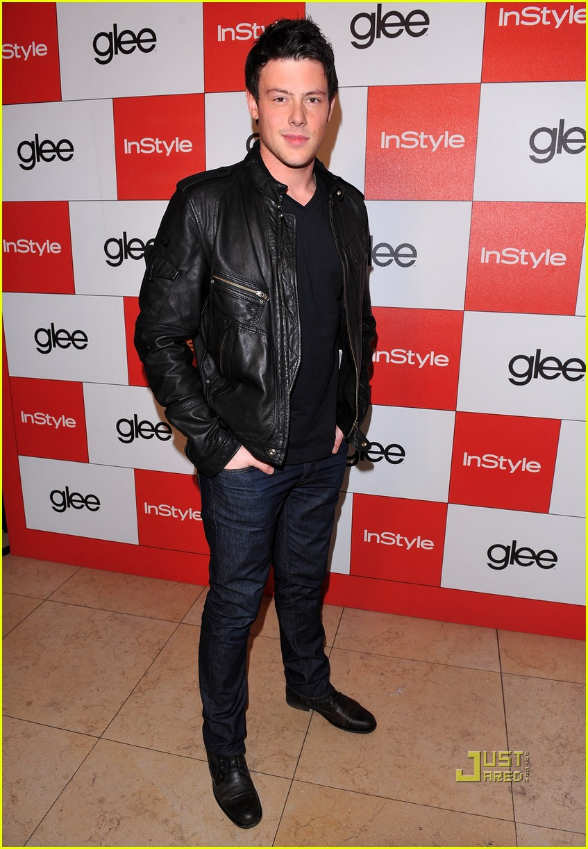 lea michele cory monteith glee picked up second season 082407445