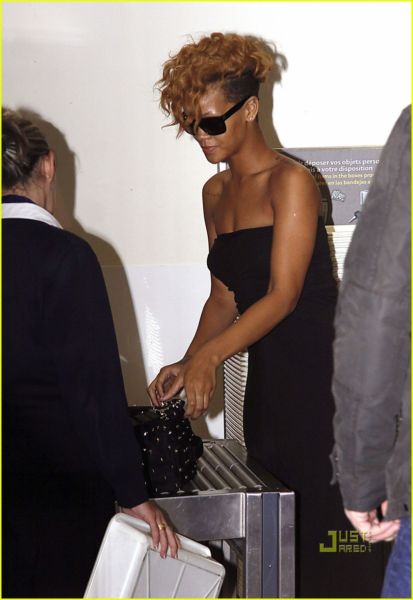 rihanna departs nice airport after nrj awards 072411118