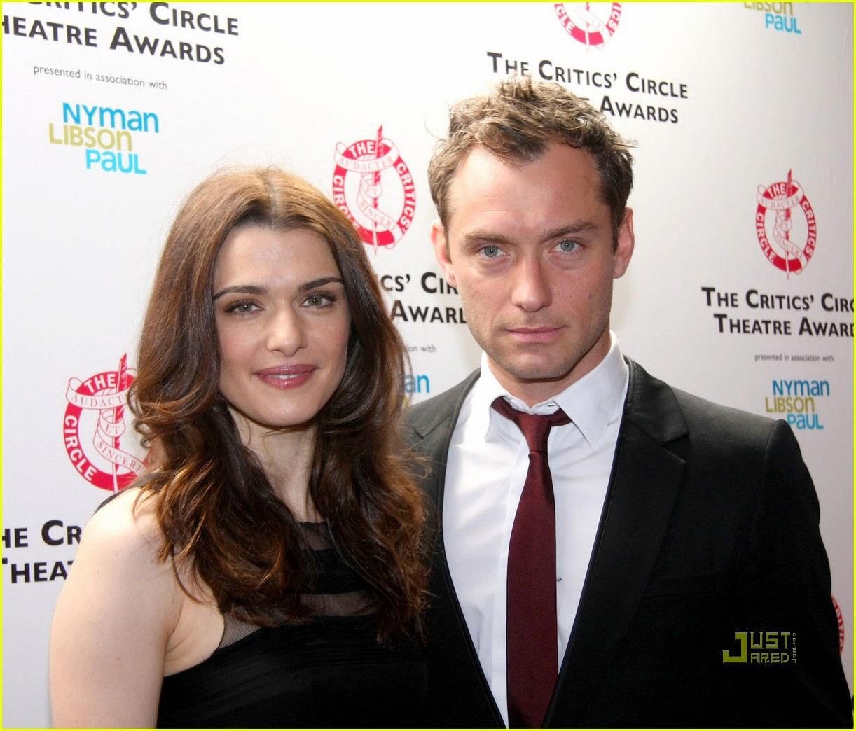 Photo of Jude Law & his friend, actress  Rachel Weisz