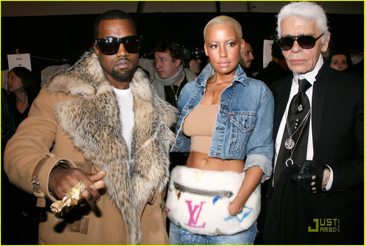 kanye west amber rose fashion furballs 11