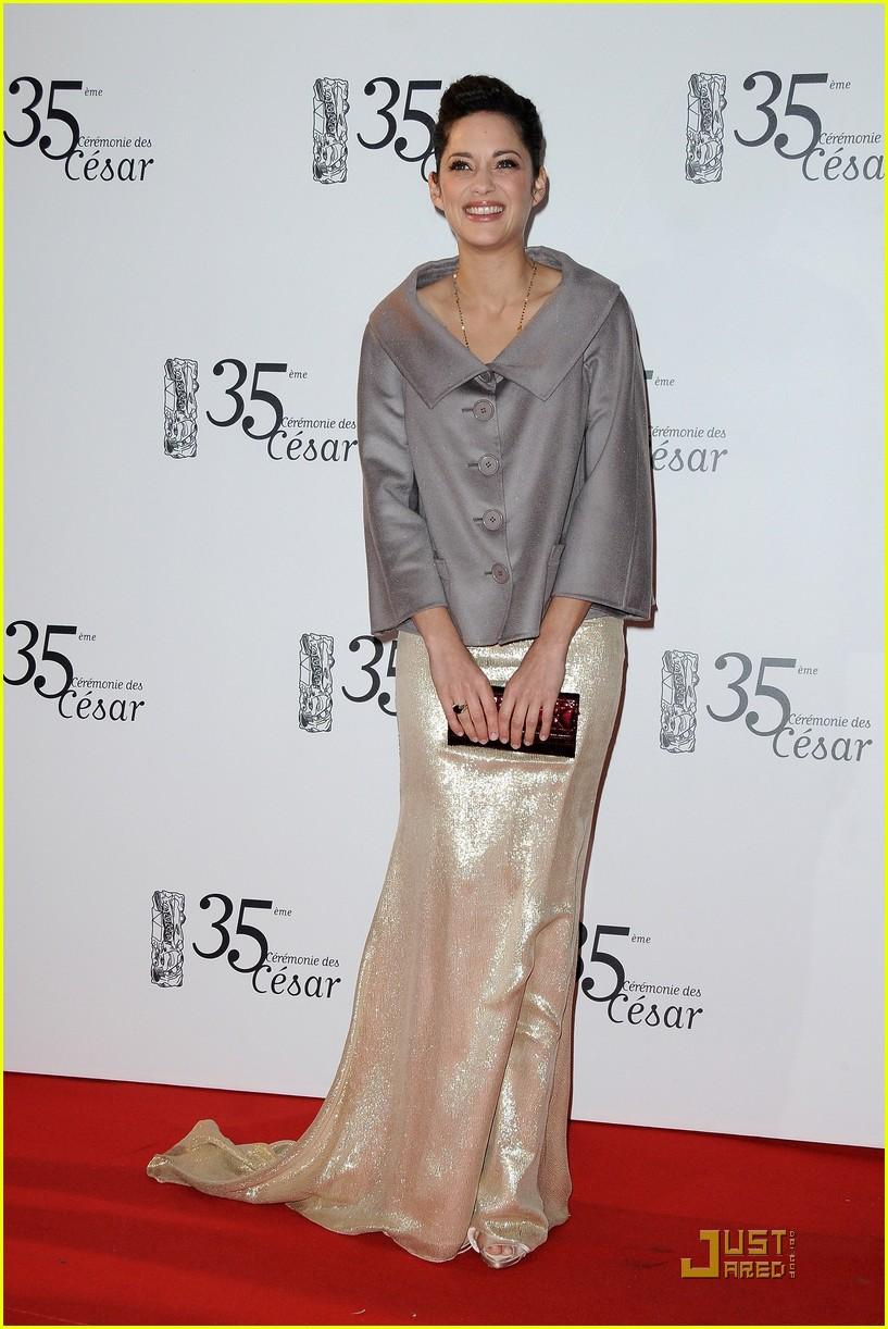 marion cotillard cesar film awards 2010 02